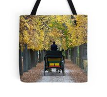 Fiacre In Chestnut Alley Tote Bag