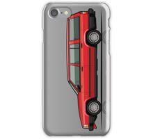 Volvo 740 745 Classic Red iPhone Case/Skin