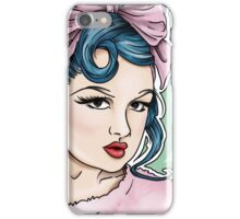Lacey Noel by Kevin Cakebread Pink Lady iPhone Case/Skin