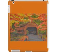 Autumn Bridge iPad Case/Skin