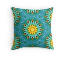 From Sunflowers to Stars #4 Throw Pillow