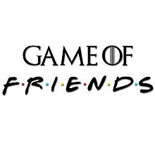 Game of Friends Photographic Print