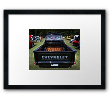 1958 Chevy Apache Pickup Framed Print