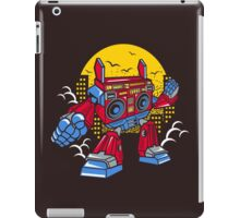 Boom Box Robot iPad Case/Skin