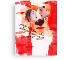 The One Who Always Figures It Out (Stydia) Canvas Print