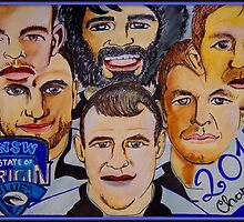 Blues Champions Origin 2014  by Sacha  Whitehead