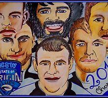 Blues Champions Origin 2014  by Sacha  Whitehead