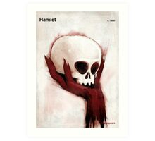 William Shakespeare - Hamlet Art Print