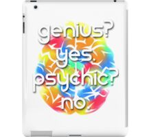 Genius? Yes. iPad Case/Skin