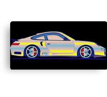 Neon Carrera Dream Canvas Print