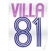 Aston Villa Poster