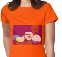 Sweet Love Candy Womens Fitted T-Shirt