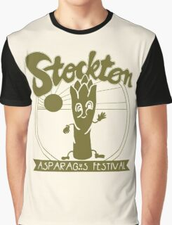 Stockton Asparagus Festival Graphic T-Shirt