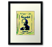 Campbell's Soup Tribute Framed Print