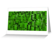 Green composition 1 Greeting Card