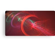 Red Turbine Canvas Print