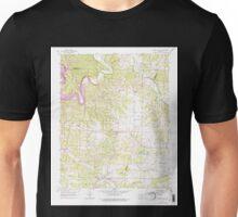USGS TOPO Map Arkansas AR Spring Valley 259662 1958 24000 Unisex T-Shirt