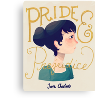 Pride and Prejudice Canvas Print