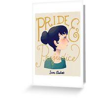 Pride and Prejudice Greeting Card