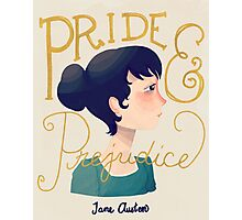 Pride and Prejudice Photographic Print