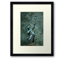 The wise man knows himself to be a fool  Framed Print