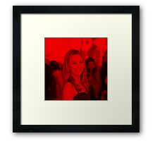 Amanda Bynes - Celebrity (Square) Framed Print