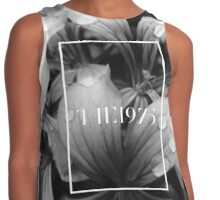 b&w flowers the 1975 Contrast Tank