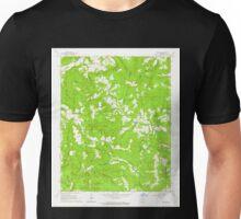 USGS TOPO Map Arkansas AR Canaan 258123 1962 24000 Unisex T-Shirt