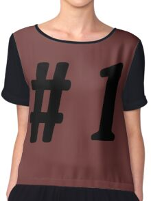 Number 1 #1  Chiffon Top