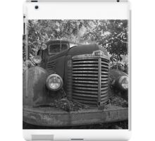 Abandoned Fire Truck iPad Case/Skin