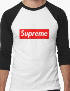 supreme phone case Men's Baseball ¾ T-Shirt