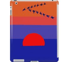 Fly Into The Sunset iPad Case/Skin