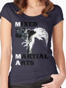 Ken Masters MMA Women's Fitted Scoop T-Shirt