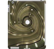 Modern spiral staircaise iPad Case/Skin