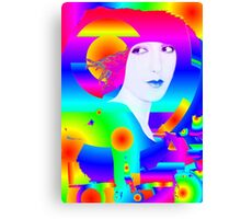 Abstract Color Dream Canvas Print