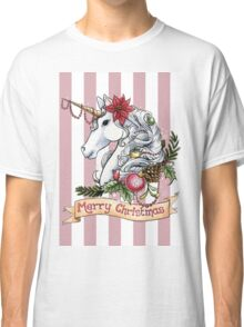 Christmas Unicorn Classic T-Shirt