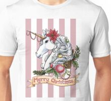 Christmas Unicorn Unisex T-Shirt