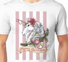 Christmas Unicorn Unisex T-Shirt