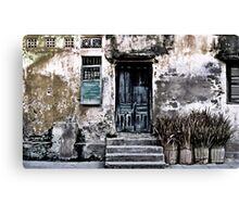 VIETNAMESE FACADE Canvas Print