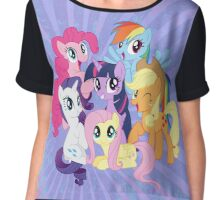 My little Pony Chiffon Top