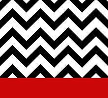Twin Peaks Black Lodge pattern by eantal