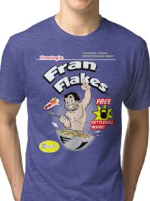 Fran Flakes Tri-blend T-Shirt