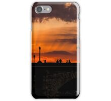 Sunset on the Seine iPhone Case/Skin