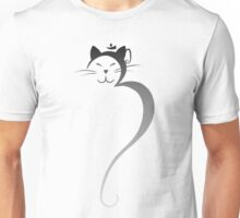 Om Kitty - Silver Fade Unisex T-Shirt