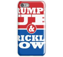 Trumped Up Trickle Down iPhone Case/Skin