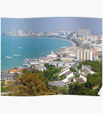 Pattaya Beach in Thailand Poster