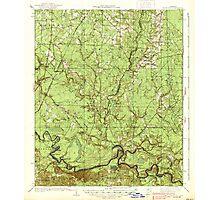 USGS TOPO Map Arkansas AR Moro Bay 260205 1938 62500 Photographic Print