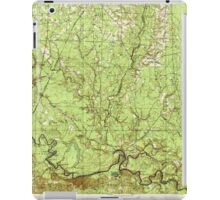 USGS TOPO Map Arkansas AR Moro Bay 260205 1938 62500 iPad Case/Skin