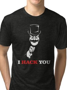 FSociety I Hack You Mr Robot Tri-blend T-Shirt