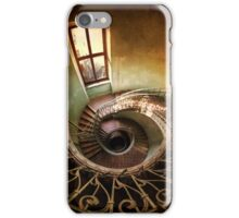 Spiral stairs and the window iPhone Case/Skin